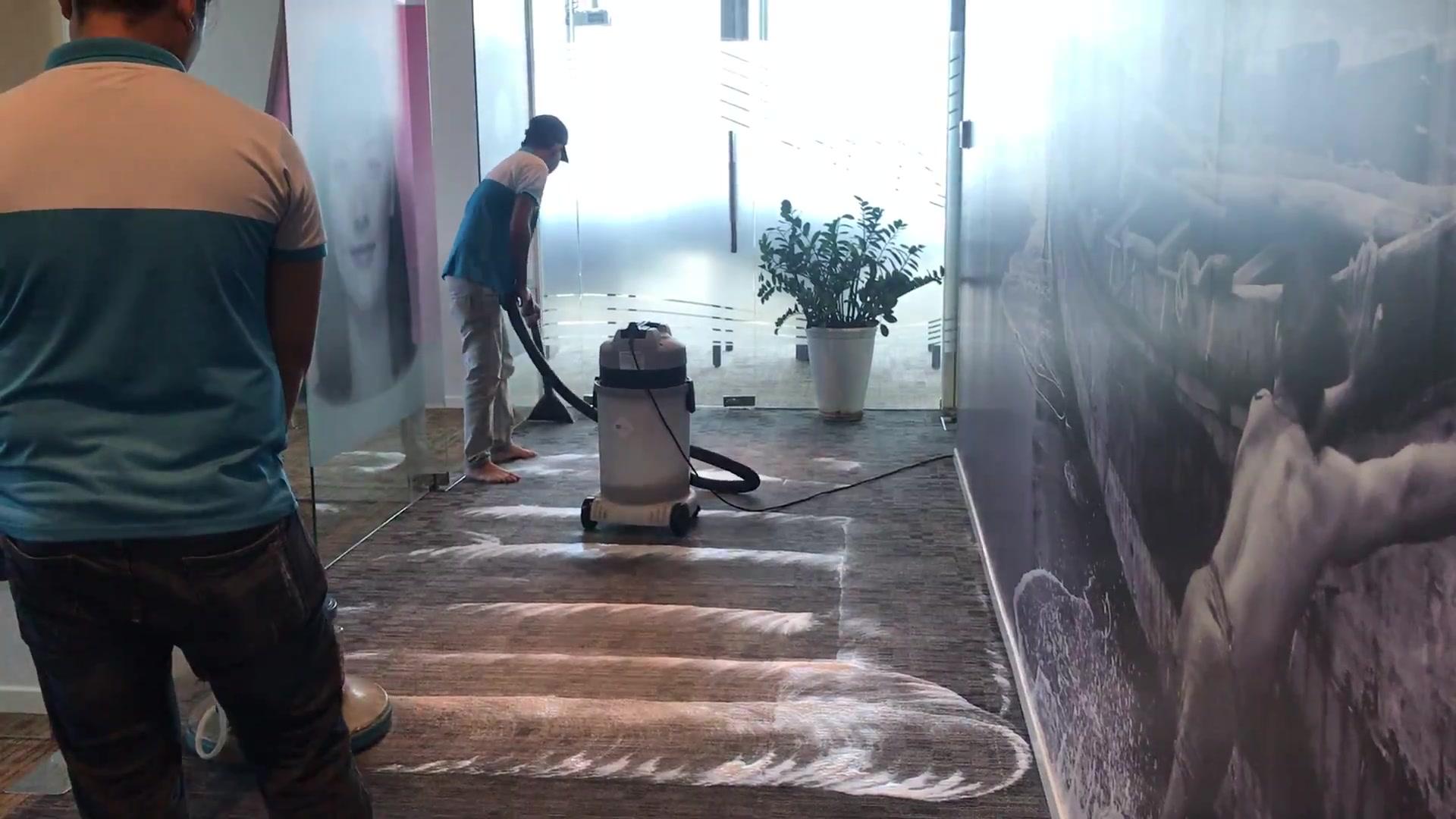 Dịch vụ giặt thảm văn phòng GoClean