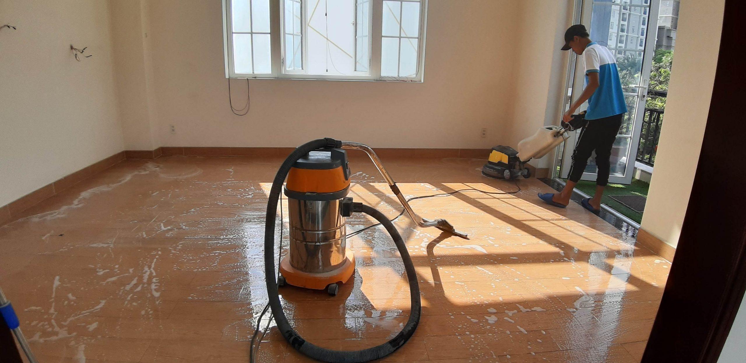 vệ sinh nhà mới xây TPHCM