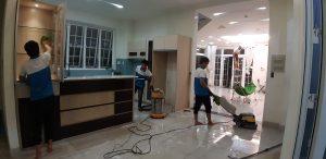 vệ sinh công nghiệp nhà mới sau xây dựng