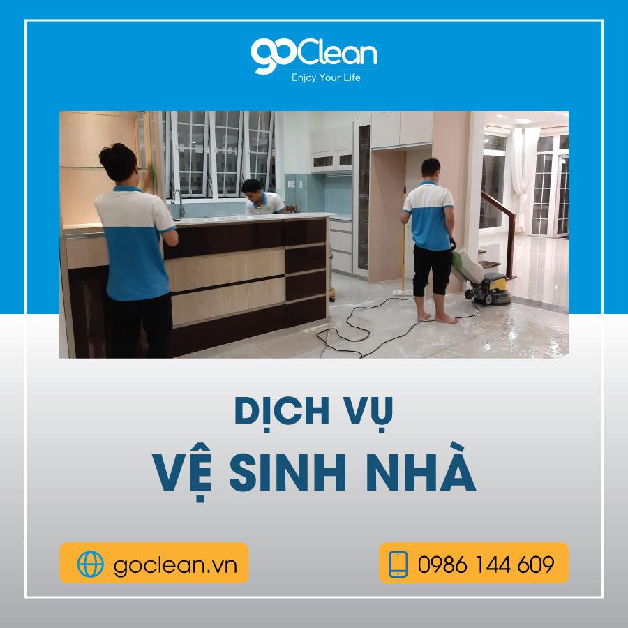 dịch vụ vệ sinh nhà cửa tại TPHCM GoClean