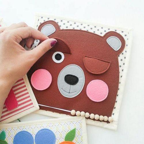 Ý tưởng cách làm sách vải cho trẻ mầm non