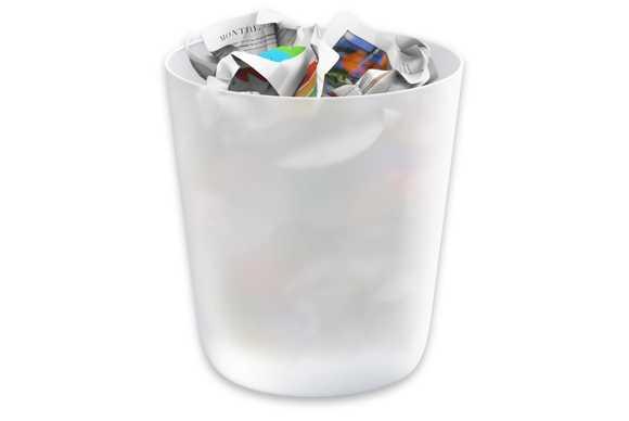 làm sạch thùng rác hàng ngày